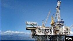 Plataforma petrolifera em Cabinda (Novo Jornal)