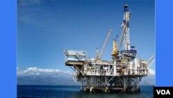 Plataforma petrolifera em Cabinda (foto Novo Jornal)
