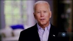 Байден офіційно висунув свою кандидатуру на посаду президента США. Відео