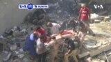VOA60 DUNIYA: A Yau Juma'a Jirgin Saman Kasar Pakistan Ya Fadi A Rukunin Gidaje A Birnin Karachi