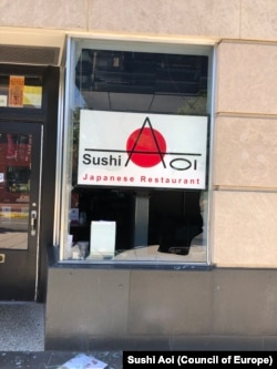 Sushi Aoi, Japanese restaurant owned by Thai entrepreneur in downtown Washington DC, has been affected by the protest over the weekend (May 30).