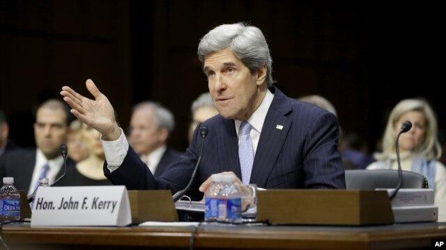 Ông John Kerry điều trần tại trụ sở Quốc hội 24/1/13
