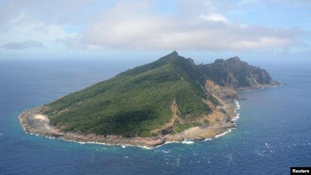 센카쿠 열도의 우오츠리 섬. (자료사진)