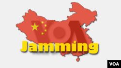 Pemerintah Tiongkok mengganggu siaran radio VOA dan juga BBC.