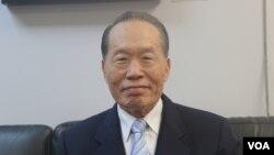 台湾中国国民党副主席陈镇湘(美国之音杨明拍摄)