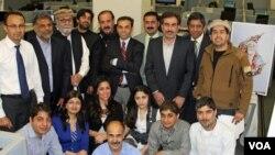 Deewa staff and friends