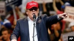Republikanac Donald Tramp tokom predizbornog skupa u Arizoni, 19. mart 2016.