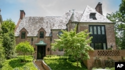 Real estate circles buzzed May 25, 2016, over reports that President Barack Obama and first lady Michelle Obama have decided to rent this nine-bedroom mansion in one of Washington's poshest neighborhoods when he leaves office in January 2017.