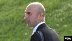 Jurupotret pribadi Presiden Saakashvilli, Irakli Gedenidze ditahan atas tuduhan mata-mata.