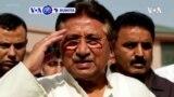VOA60 Duniya: A Pakinstan, Wata Kotu Ta Musamman Ta Yanke Wa Tsohon Shugaban Kasar Pervez Musharaf Hukumcin Kisa