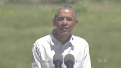 Obama Stresses Need for Preservation in Yosemite Visit