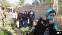 Warga sipil Irak diperintahkan untuk mengungsi menjelang operasi pembebasan Fallujah dari kelompok ISIS (foto: ilustrasi).
