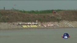 中国停止寻找船难幸存者 家属不满