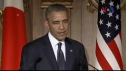 Tổng thống Obama tái khẳng định cam kết bảo vệ Nhật Bản