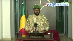 """Manchetes africanas 18 Agosto: Mali - Coronel Goita reafirma compromisso de realizar """"eleições transparentes"""""""