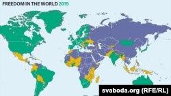 Доклад Freedom House «Свобода в мире 2019»