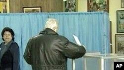 Ukrainian voters
