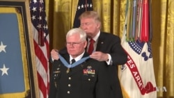 Vietnam War Medic Receives Medal of Honor in White House Ceremony