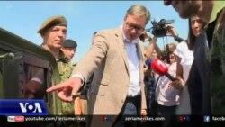 Vuçiç falenderon Rusinë për ndihmat ushtarake