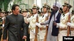 تحریک لبیک پاکستان سے متعلق سوشل میڈیا پر وائرل ہونے والی ایک تصویر
