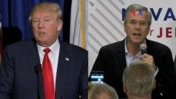 La batalla entre Trump y Bush