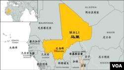 马里地理位置