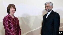 Visoka predstavnica Evropske unije Ketrin Ešton i glavni iranski pregovorač Said Džalili