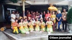 Kelompok Banjar Bali dan Gamelan Raga Kusuma di Washington, D.C. (foto/dok: Banjar Bali)