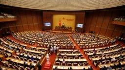 Một phiên họp của Quốc hội Việt Nam khóa XIV.
