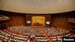 Một phiên họp của Quốc hội Việt Nam khóa XIV. Hình minh họa.