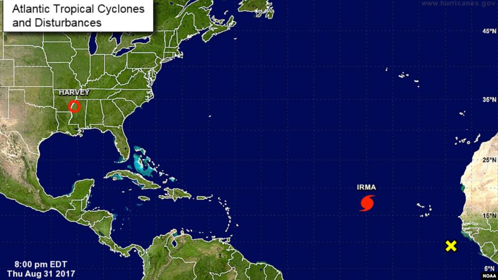 Hurricane Irma 2nd Storm Could Threaten US