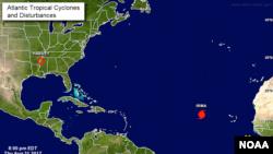 Pusat Badai Nasional telah mengeluarkan prakiraan terkait Badai Irma, badai Kategori 3 untuk kawasan Atlantik. (Foto: ilustrasi)