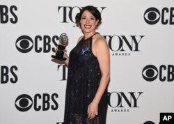 ریچال چاوکین برنده بهترین کارگردانی برای موزیکال «هادس تاون» در هفتاد و سومین مراسم اعطای جوایز تونی