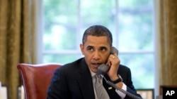 바락 오바마 미국 대통령(자료사진)