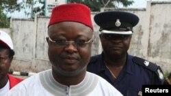 Samuel Sam-Sumana,Freetown , octobre 2012
