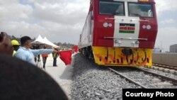Safari ya kwanza ya majaribio kwa treni mpya Kenya