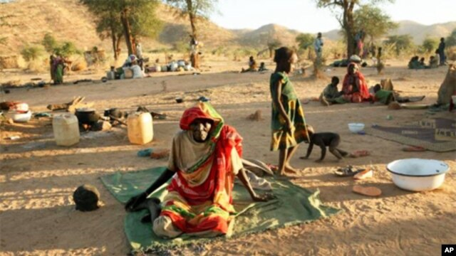 Displaced people in the south-east of Chad