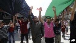 政府軍在阿勒頗拘捕反政府武裝