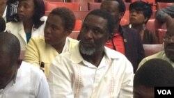 UMnu. Moses Mzila Ndlovu, omunye wabakade besemhlanganweni wokubumba umthetho wokukhumisana umlotha.