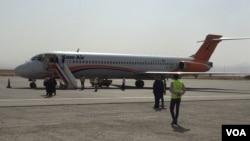 شرکت هوایی کام ایر اولین پرواز مستقیم از میدان هوایی هرات را به دهلی جدید انجام داد