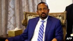 Le Premier ministre éthiopien Abiy Ahmed en visite officielle à Khartoum au Soudan le 2 mai 2018