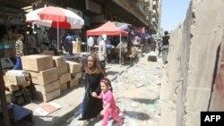 Majka i dete beže s mesta dvostrukog incidenta u Bagdadu