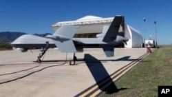 美國的邊境無人機。