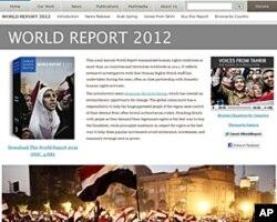人权观察发表全球人权状况年度报告