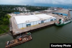 Refrigerated storage facility at the Port of New Orleans. (Tracie Morris Schaefer, Courtesy of Port of New Orleans)