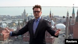 Роберт Дауни-младший в Москве