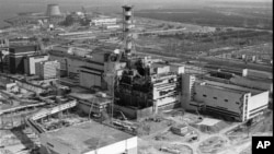 Документальная фотография Чернобыльской АЭС после аварии. 1986 год
