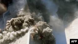 Hai chiếc phản lực cơ chở khách đã bị cướp và đâm vào hai tòa tháp của Trung tâm Thương mại Thế giới trong vụ tấn công khủng bố tệ hại nhất trên lãnh thổ nước Mỹ (ảnh tư liệu ngày 11/9/2001).