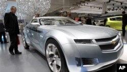 Mobil listrik Chevrolet Volt produksi pabrik General Motors (foto: dok).