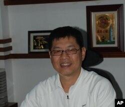 東莞台商協會副會長張錫帆